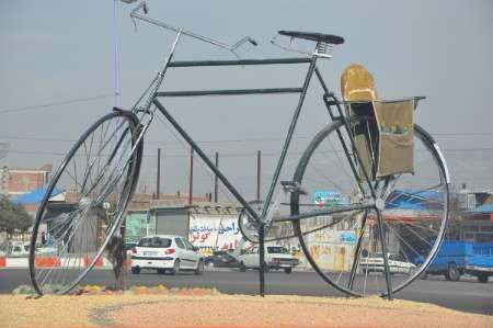 بناب شهر دوچرخه