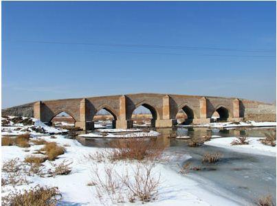 5cheshme پل پنج چشمه بناب