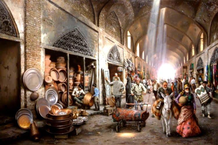 بازار قدیمی تبریز