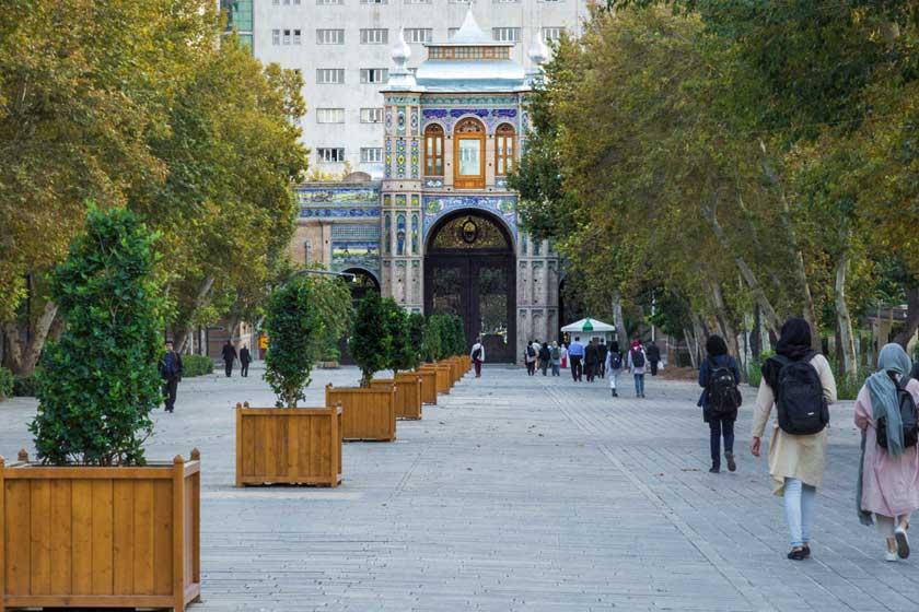 دروازه باغ ملی