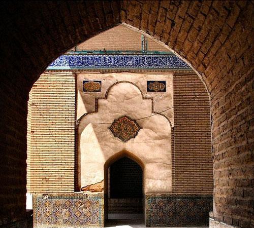 مسجد-سلطانی-بروجرد--ایوان-شمالی مسجد امام (سلطانی سابق) - بروجرد