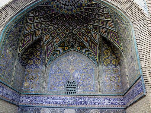 مسجد-سلطانی-بروجرد4 مسجد امام (سلطانی سابق) - بروجرد