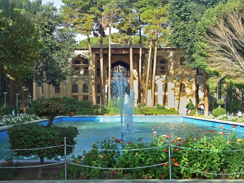 -بهشت-اصفهان کاخ هشت بهشت