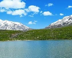 کوه گل دریاچه کوه گل