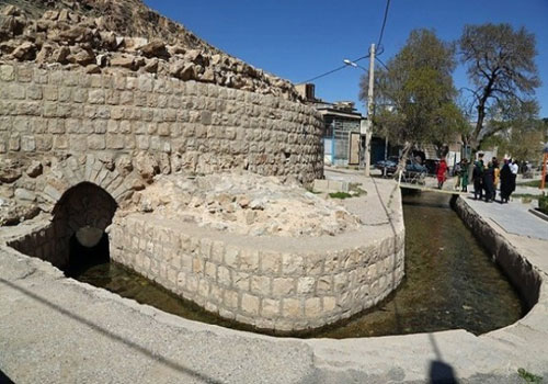 گرداب سنگي (گِردُو بَردينَه)   خرم آباد