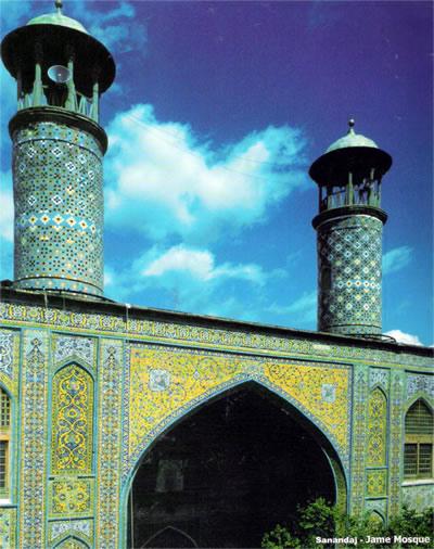 6 مسجد جامع سنندج