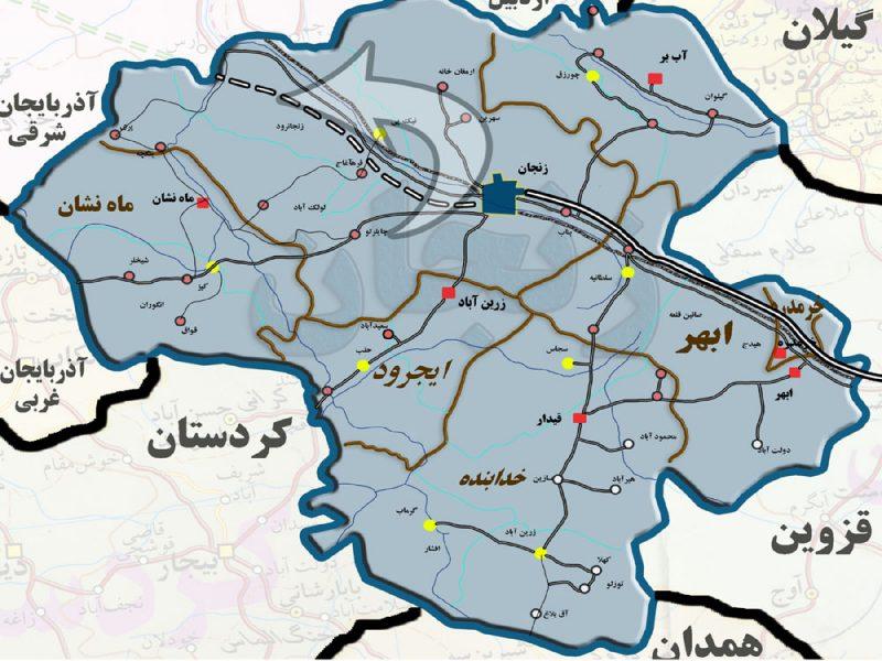 Zanjan-map3