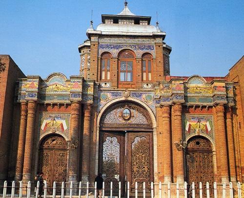 baghe-meli1 دروازه باغ ملی