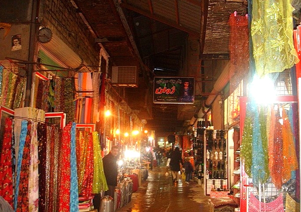 saghez1 بازار قدیمی سقز