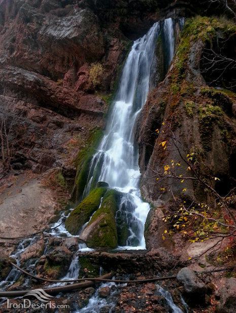 آب سفید 1 آبشار آب سفید