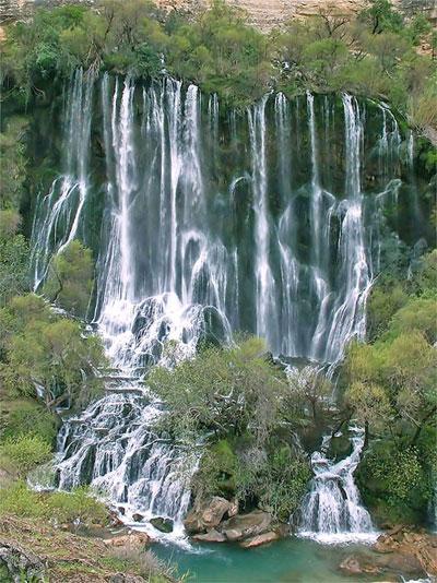 آب پری آبشار آب پری