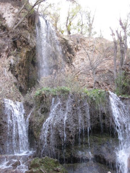 عکس های آبشار اسطرخی شیروان