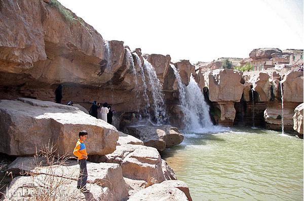 آبشار افرینه 40 جاهای دیدنی خرم آباد لرستان