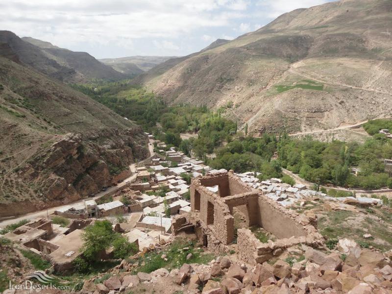 عکس های آبشار بارگه روستای اسفیدان شهرستان بجنورد خراسان شمالی