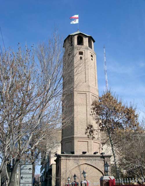 برج آتش نشان  جاهای دیدنی تبریز (معرفی 100 جاذبه با عکس)