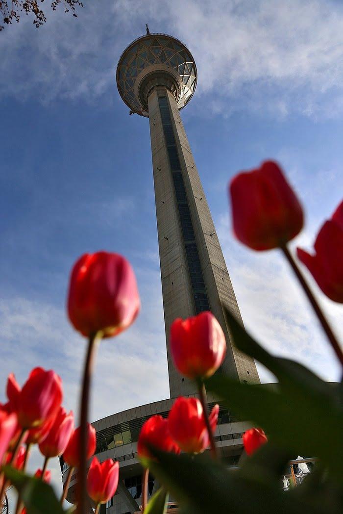 برج میلاد تهران  برج میلاد تهران