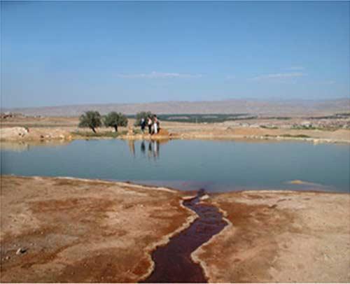 چشمه آب معدنی تاپ تاپان