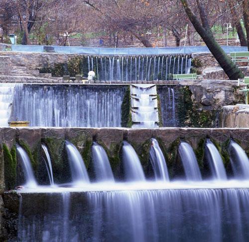 گردشگاه باباامان بجنورد در استان خراسان شمالی