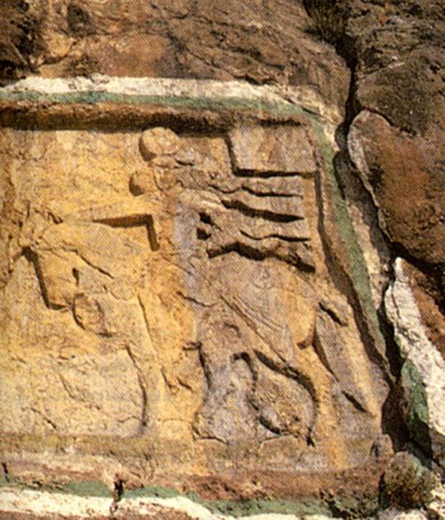 نقش برجسته خان تختی