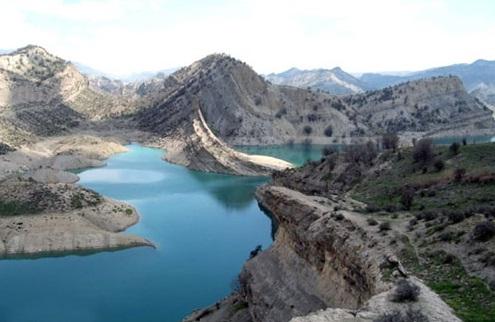دریاچه سد ایلام1 دریاچه سد ایلام