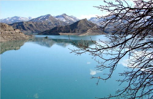 دریاچه سد ایلام2 دریاچه سد ایلام