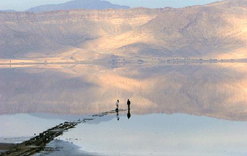 دریاچه-مهارلو2 دریاچه مهارلو