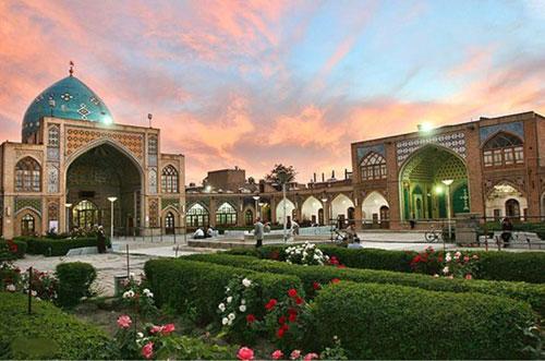 مسجد-جامع-زنجان2(1) مسجد جامع زنجان