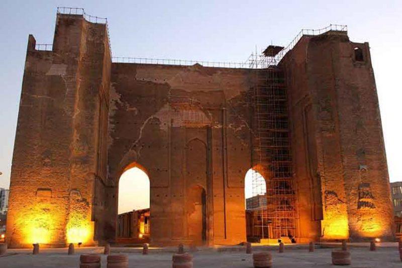 مسجد علیشاه جاهای دیدنی تبریز (معرفی 100 جاذبه با عکس)