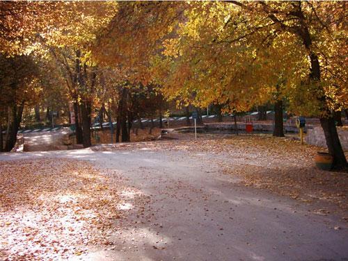 پارک-بابا-امان-بجنورد4 گردشگاه باباامان