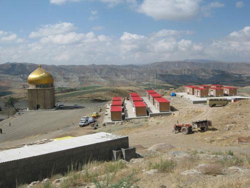 عکس های چشمه آبگرم ایوب پیامبر بجنورد در خراسان شمالی