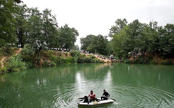 دریاچه گل رامیان