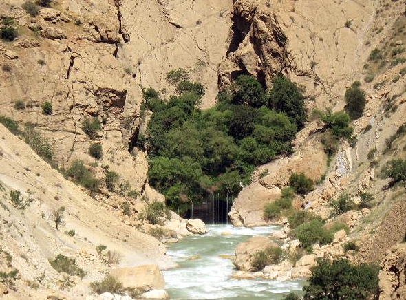 ab malakh4 آبشار آب ملخ