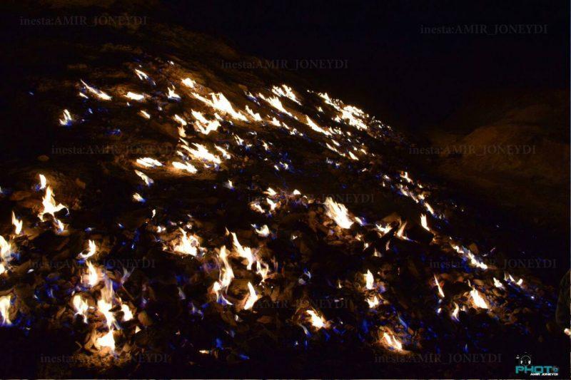 گنبد لران ( آتش کوه )