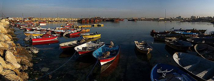 اسکله ماهیگیری بوشهر چگونگی گرفتن عکسهای پاناروما