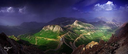 اورامانات کردستان چگونگی گرفتن عکسهای پاناروما