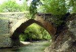 حسینیه و پل تاریخی برغان