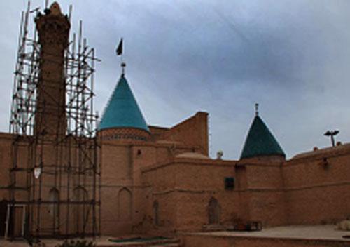 مسجد-بایزید-بسطام-منار2 مسجد بایزید