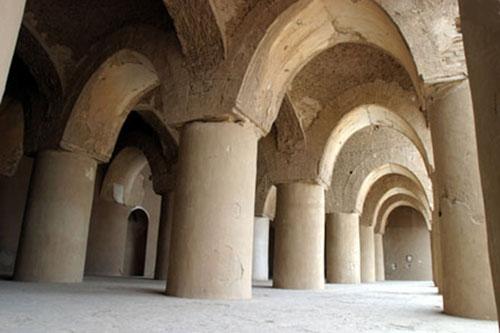 -تاریخانه4 مسجد تاریخانه دامغان