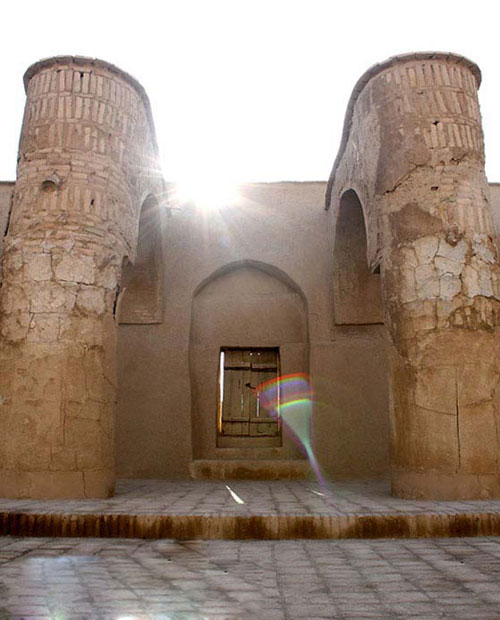-تاریخانه7 مسجد تاریخانه دامغان