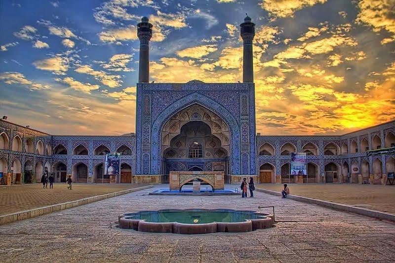 مسجد جامع از جاهای دیدنی اصفهان جاهای دیدنی اصفهان (100 جاذبه گردشگری اصفهان)