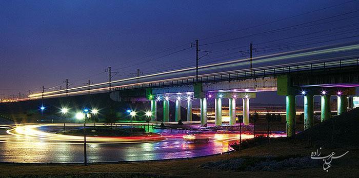 پل متروی وردآورد البرز چگونگی گرفتن عکسهای پاناروما