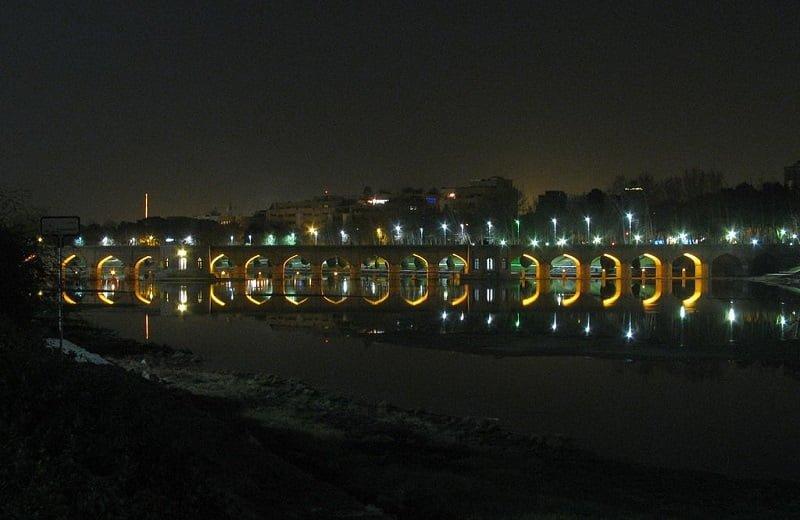 پل چوبی پل چوبی