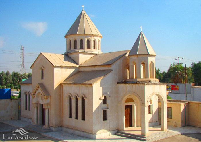 کلیسای ارامنه آبادان کلیسای ارامنه (کلیسای قاراپت مقدس)