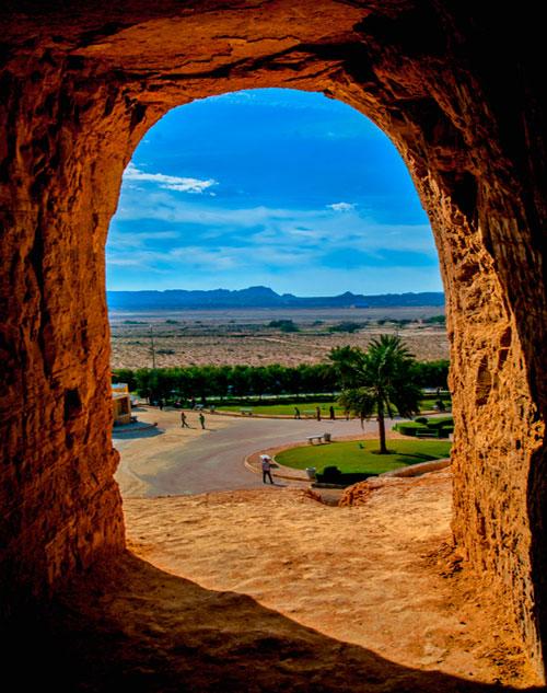 غارهای تاریخی خربس