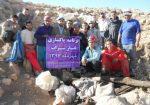 پاکسازی ۱۱۰۰ کیلو زباله از غارهای بگلیجه و سراب همدان
