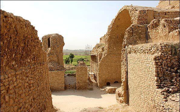 اردشیر 9 کاخ اردشیر بابکان