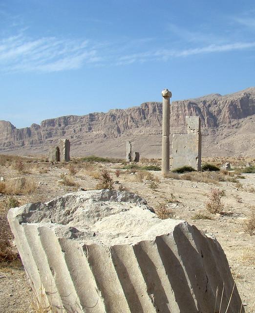 استخر 5 شهر باستانی استخر