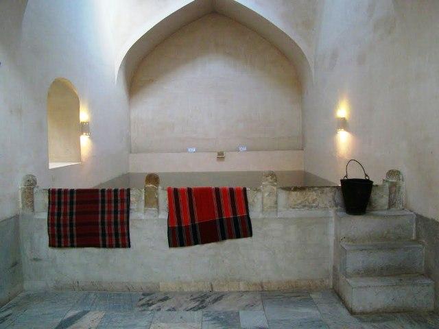 حمام 6 موزه مردم شناسی و حمام مهدی قلی بیک