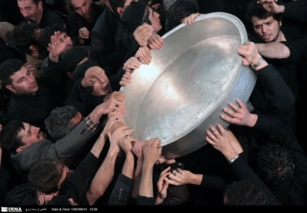 مراسم طشت گذاری در اردبیل