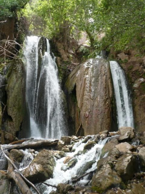 آبشار وارک 40 جاهای دیدنی خرم آباد لرستان